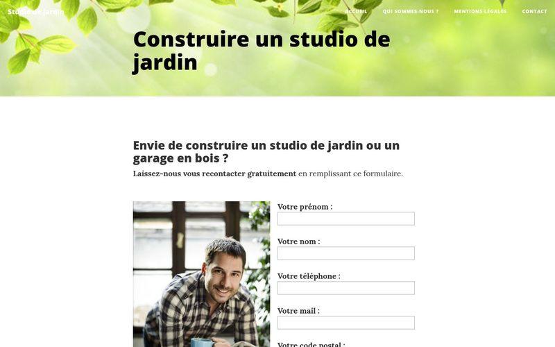 Pourquoi construire un studio de jardin ?